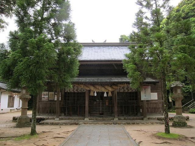 玉作湯神社(島根・松江) Tamatsukuriyu-jinja shrine, Matsue, Shimane, Japan