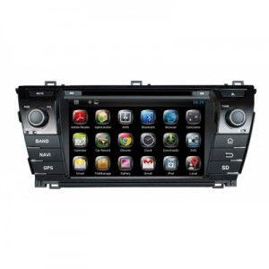 Sistem GPS Toyota Corolla 2014- cu Android 4.2