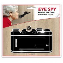 Door Décor Eye Spy camera