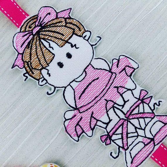 Ballerina Tutu Hair Bow & Clip Holder  Birthday Celebration - Ballet Dancer - Ballerina Dancer - Ballet Girl