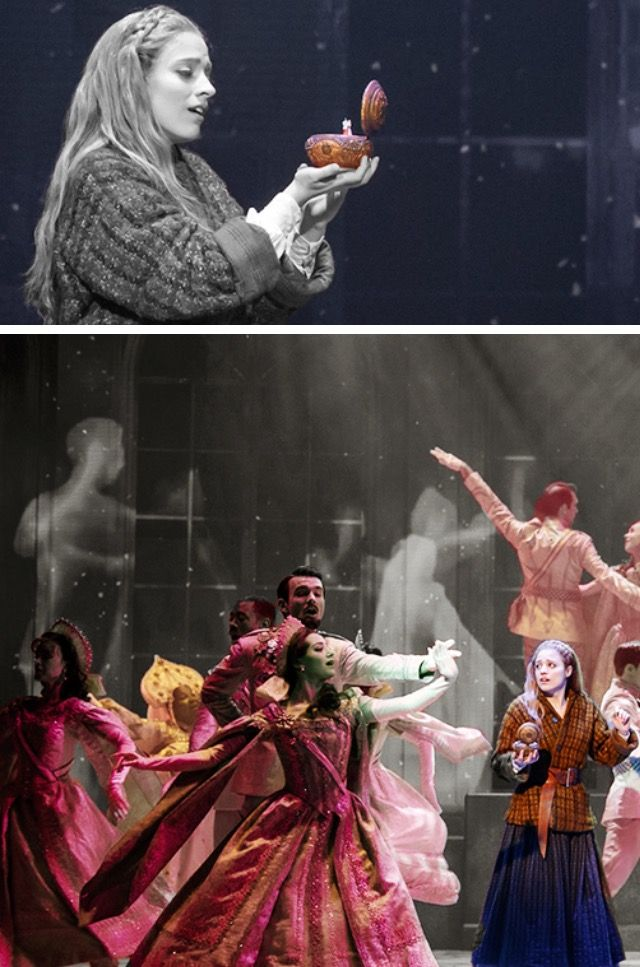 Anastasia Musical - Beautiful shot of Once Upon a December!