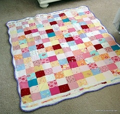 recycle old baby clothes and make a quilt