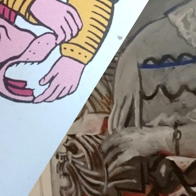EXPO PICASSO / En passant à l'exposition Picasso au Mucem. XI La Force et la toile Catalane (1954).