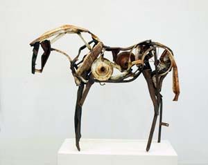 Deborah Butterfield... If you love horses, you'll love her.