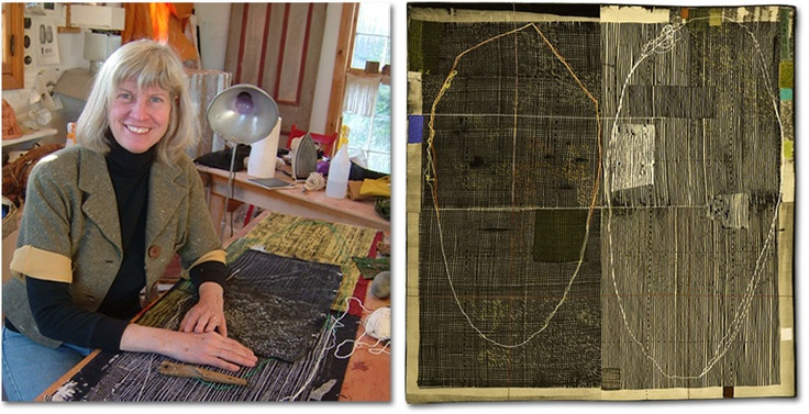 Dorothy Caldwell - surface design class