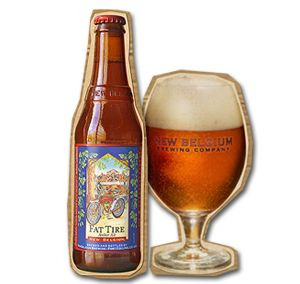 New Belgium Brewing Company's Fat Tire Amber Ale.