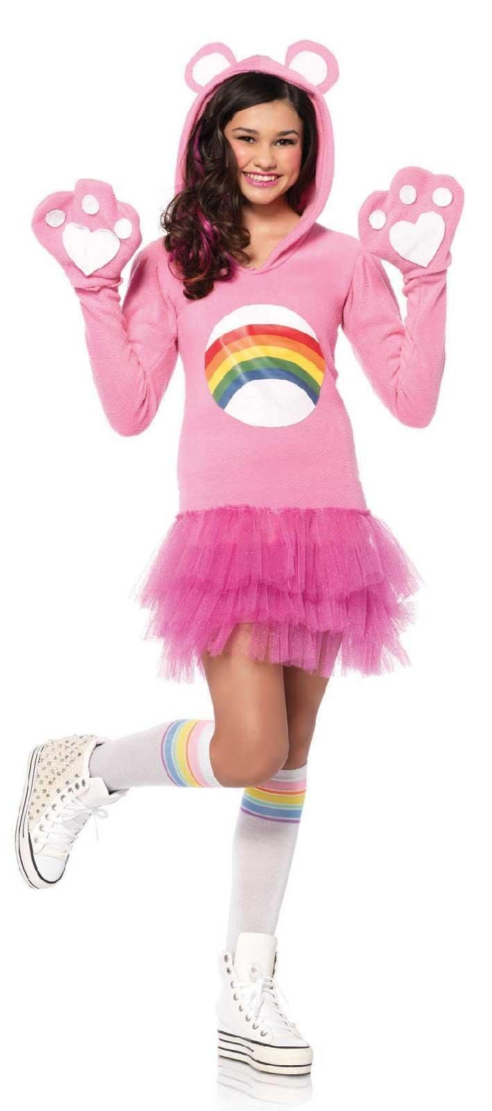 Care Bears - Teen Cheer Bear Costume from CostumeExpress.com