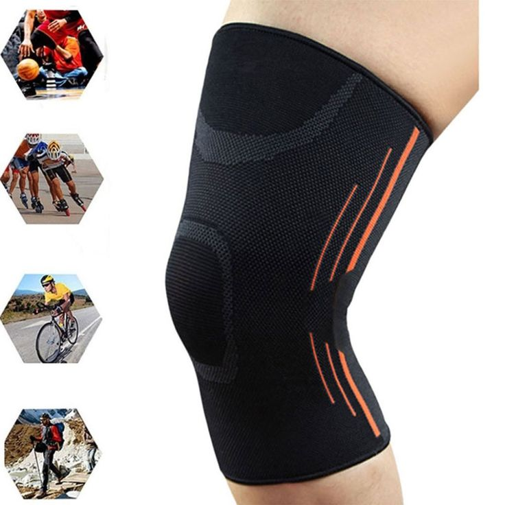 1Pc Sports Leg Knee Compression Sleeve Support Warmers Men Women Fitness Gym Running Joint Pain Relief