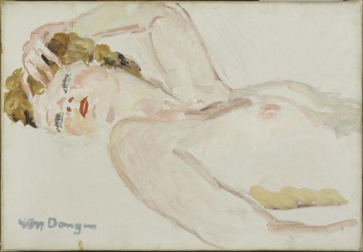 Nu allongé Van Dongen Kees (1877-1968)
