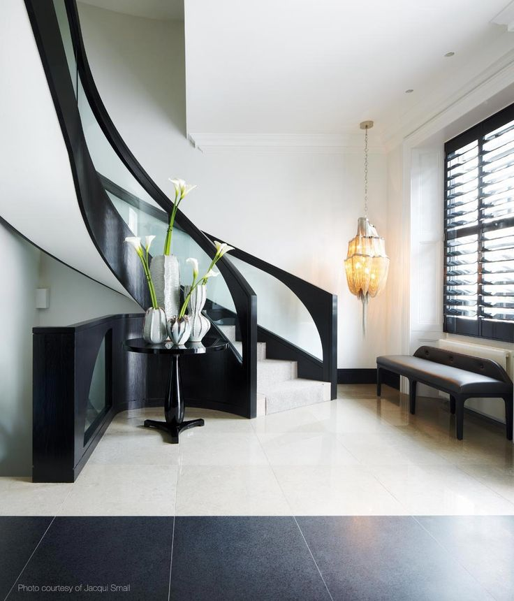 Gorgeous Stair Case And Rail Design Room Decor Ideas Kelly Hoppen Room Design Home Interiors Luxury Interior Design Hallway Decor
