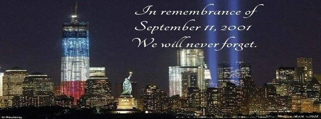 In memory of 9/11 Facebook Cover