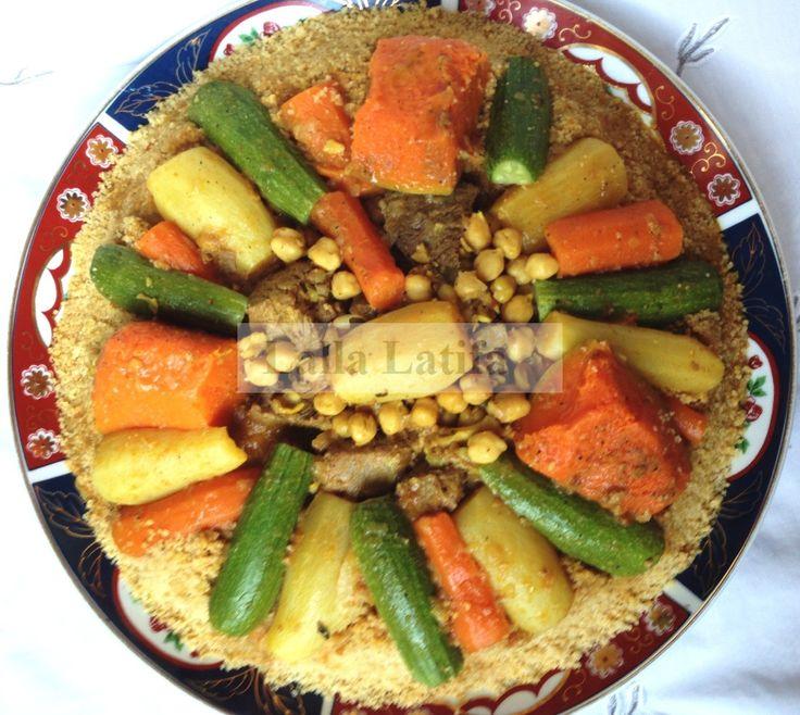 Couscous marocain au Thermomix TM5 Plus