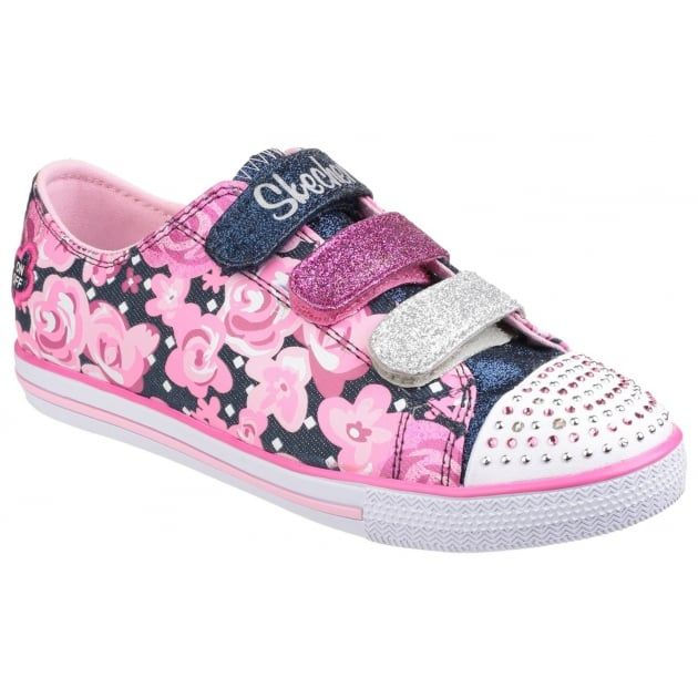 Twinkle Toes: Chit Chat Glamour Galore Denim/Pink