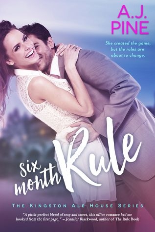 Sinfonia dos Livros: Review | Six Month Rule | A.J. Pine
