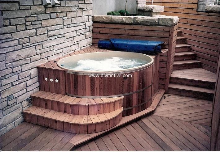 Mind Blowing Ideas For Patio Hot Tubs Whirlpool Im Freien Whirlpool Deck Whirlpool