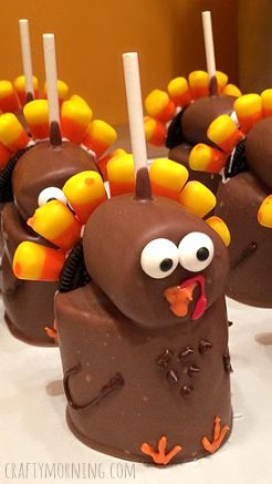 marshmallow turkey thanksgiving
