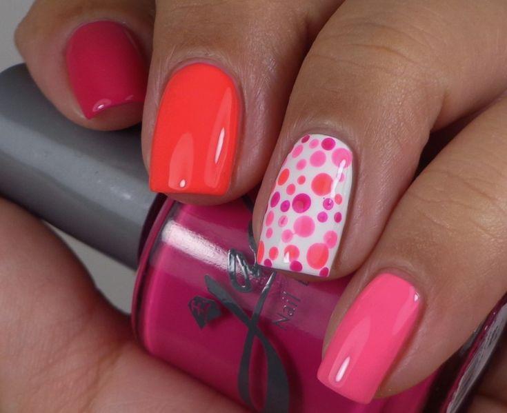 Jade Neon Manicure 1