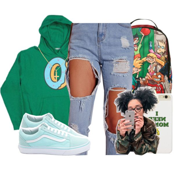 A fashion look from December 2016 featuring Vans sneakers, Nickelodeon backpacks and Sterling Essentials necklaces. Browse and shop related looks.