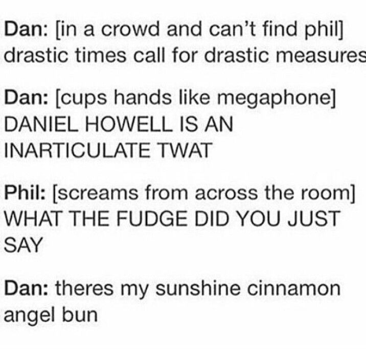 I love that the entire Phandom is just in an unspoken agreement that this would happen<<<same