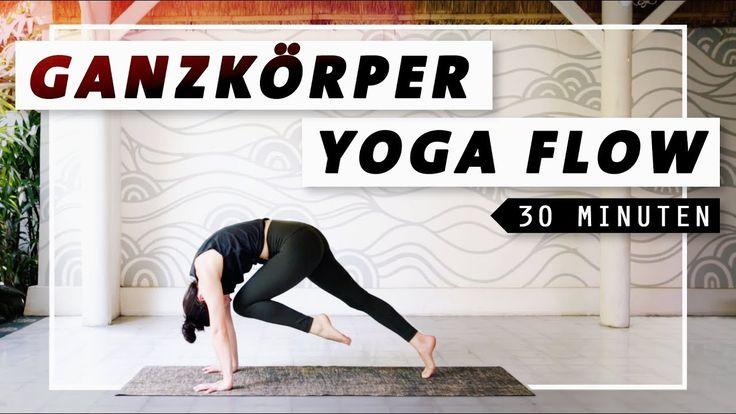 Yoga Ganzkörper Flow | Bauch Beine Po & Rücken | 30 Min. Workout – YouTube – Rosa Moreira