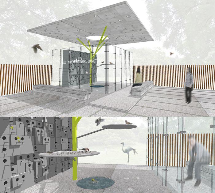 Birdhouse Pavilion for the Austin Roberts Bird Sanctuary