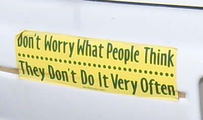 13 Funniest Bumper Stickers ever - Oddee.com (funniest bumber stickers, car bumper sticker)