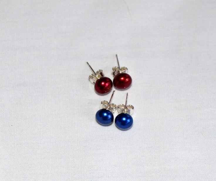 Délicates boucles d'oreilles avec perles d'eau douce by Atelierdekatou on Etsy