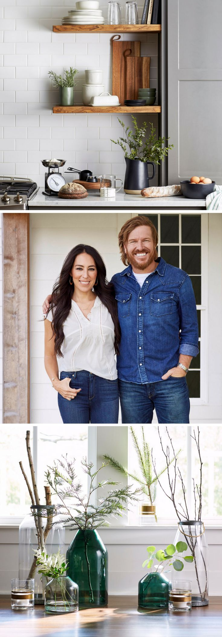 best 25 joanna gaines kitchen ideas on pinterest grey cabinets joanna gaines and neutral. Black Bedroom Furniture Sets. Home Design Ideas