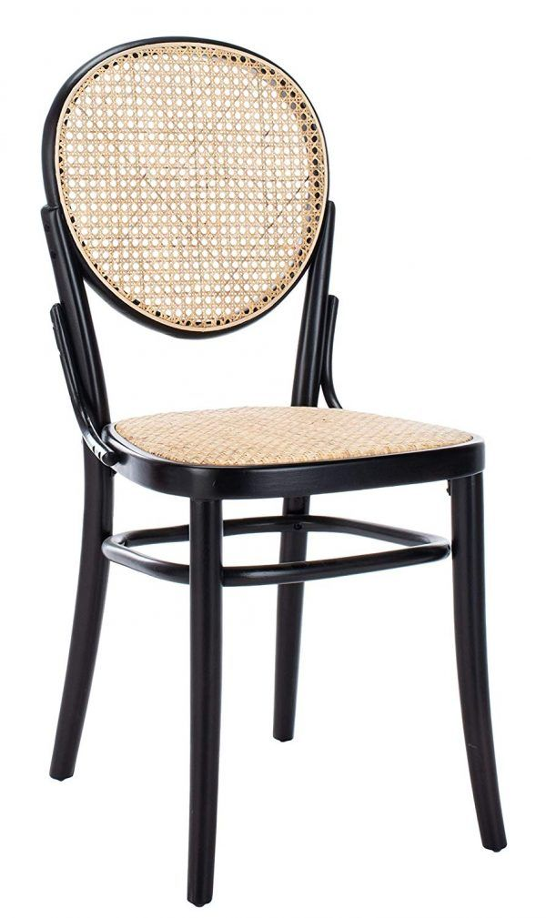 Bea Cane Dining Chair Set Of 2 Black Eclectic Goods In 2020 Cane Dining Chairs Dining Chairs Dining Chair Set