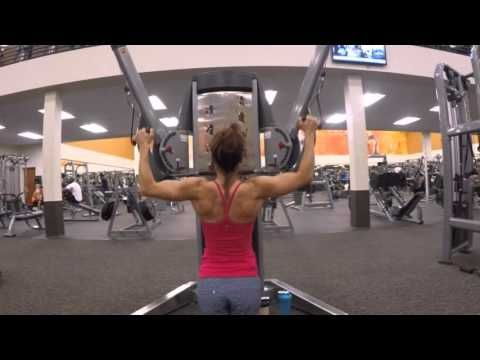 8 Week Body Transformation: Day 25 Back and Biceps - Fitness Food Diva