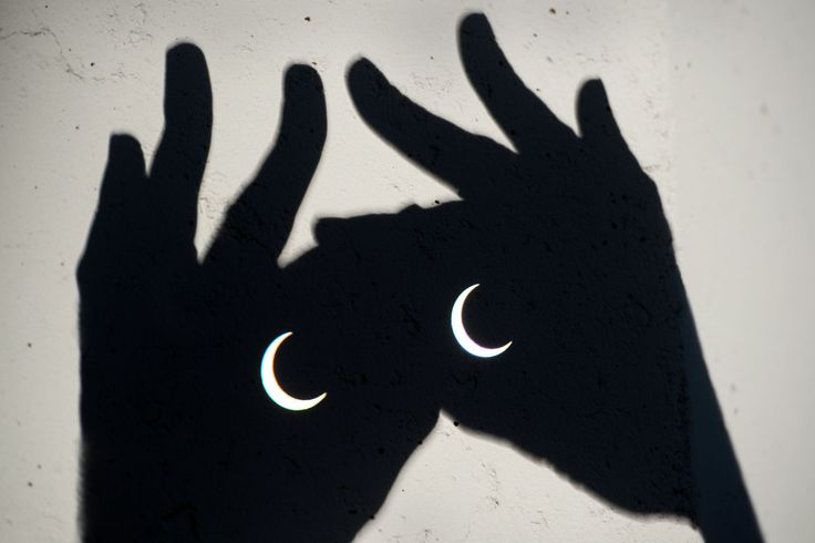 Binoculares eclipsados