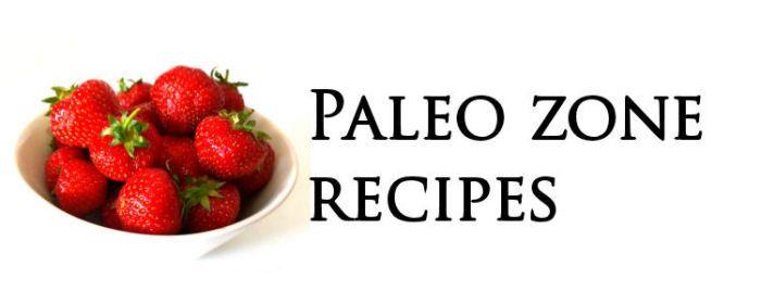 Paleo Zone Diet Recipes