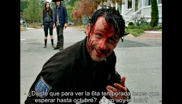 memes the walking dead español mira las flores - Buscar con Google