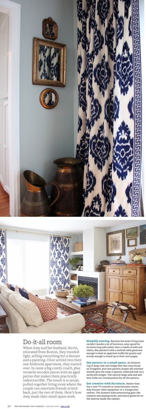 Color Post: Navy, But Not Conservative | India pied-à-terre