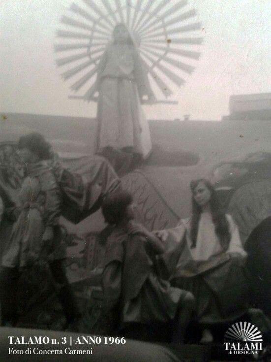 Talamo Anno 1966  Foto concessa da Concetta Carmeni