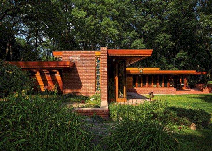 Les 27 meilleures images du tableau franck lloyd wright - Frank lloyd wright architecture organique ...