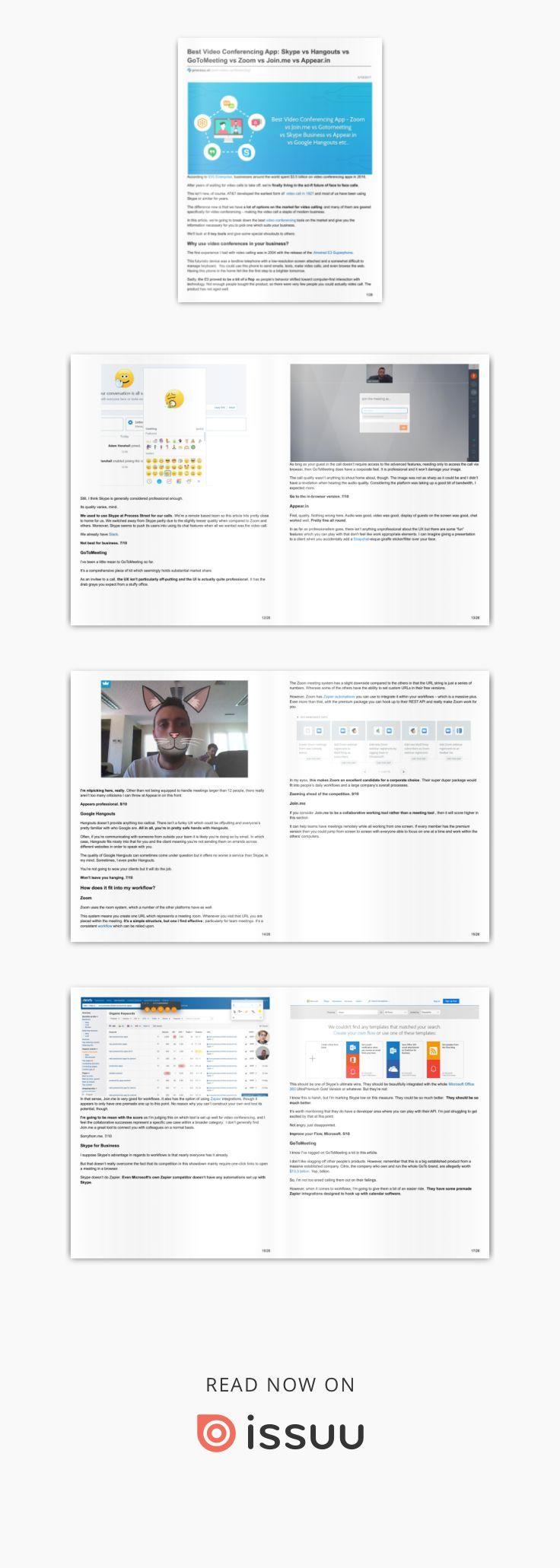 Best Video Conferencing App Skype vs Hangouts vs