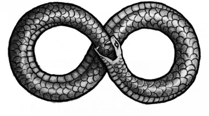Pin by Makena McVannel on Art and drawings | Ouroboros