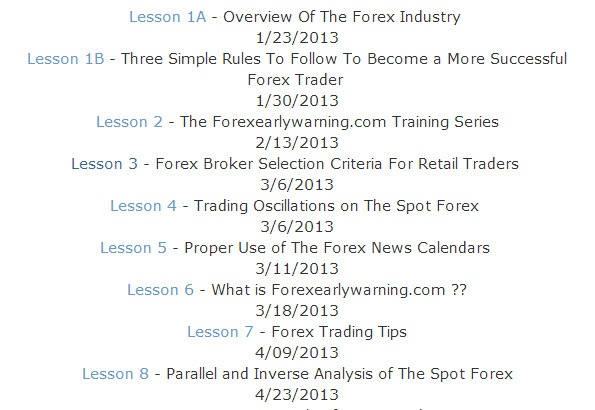 Parallel and inverse analysis forex