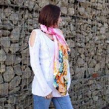 #Summer_Scarves #Scarves_Wholesale #Silk_Scarves