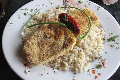 Breaded Fried Steak (Milanesa) Recipe