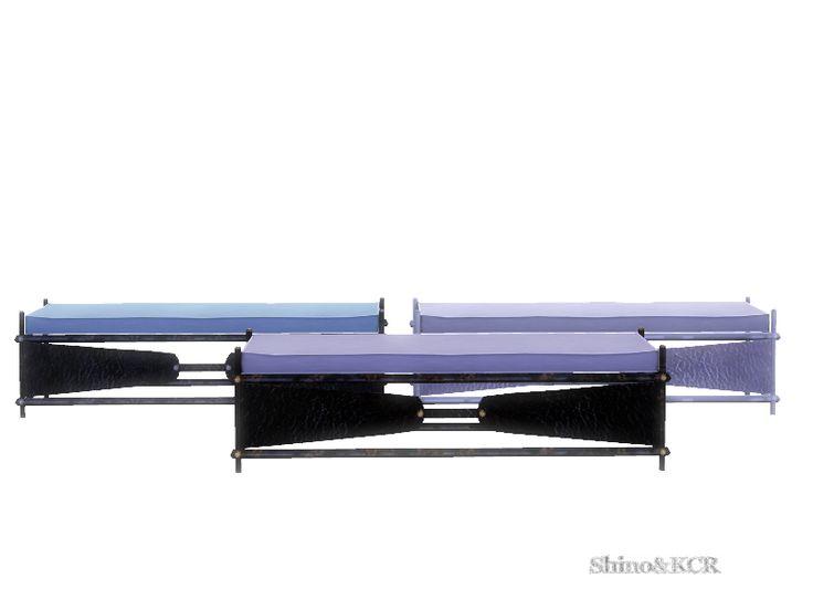 ShinoKCR's Monaco Bedroom - Bench