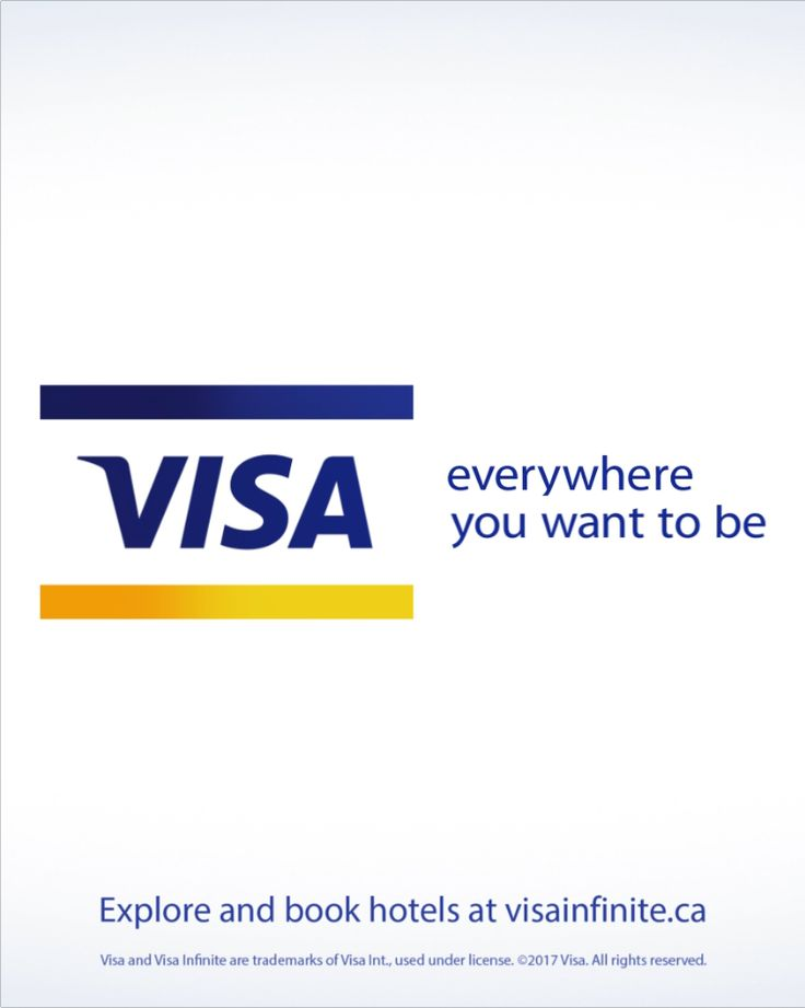If your card says Visa Infinite, you already have access to special hotel benefits around the world. Click to explore hotels.