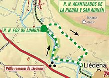 Sendero Vía Verde de la Foz de Lumbier - Lumbier - Turismo Navarra