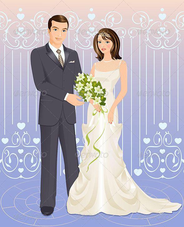 Wedding couple by NatalyaProkofyeva