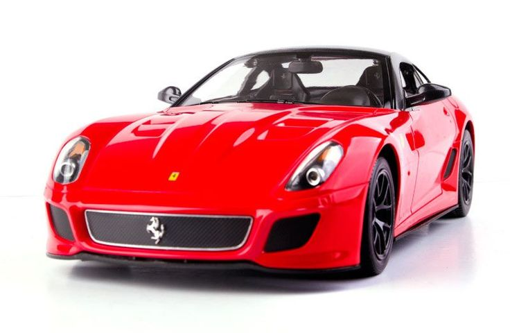 Ferrari 599 GTO Red - RASTARAdjustable Front Wheel AlignmentWorking Headlight and TaillightTrigger Type ControllerDetail Exterior & InteriorGlass Exterior PaintFunctions:-R/C scale: 1:14-Full function