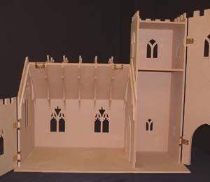 iglesia en miniatura