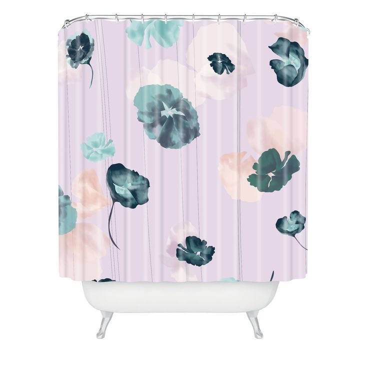 Khristian A Howell Mademoiselle In Lavender Shower Curtain   DENY Designs Home Accessories
