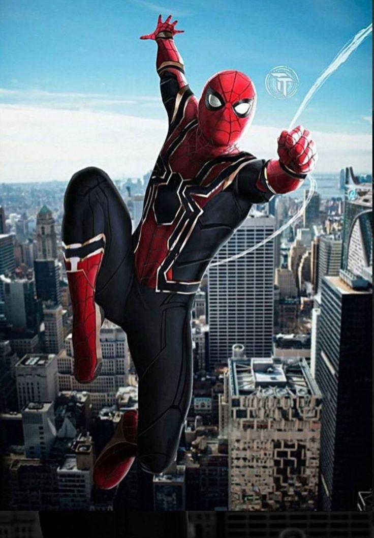 Spider-Man Avengers suit