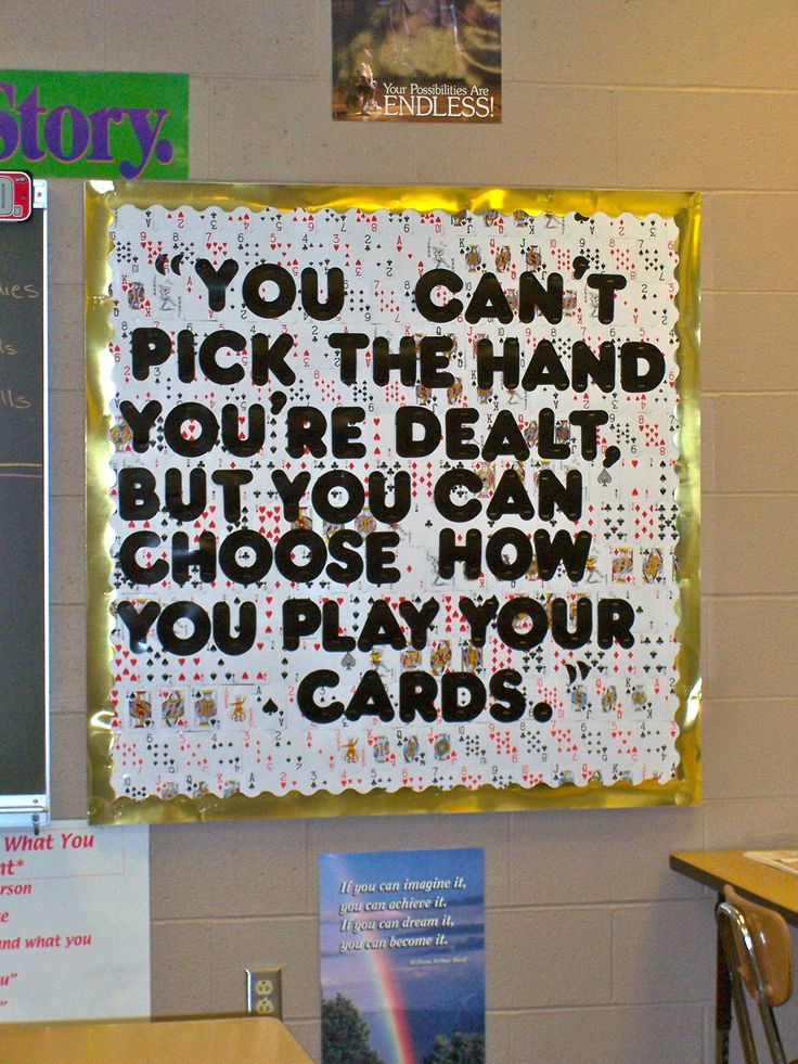 Used this as an inspirational bulletin board in my classroom